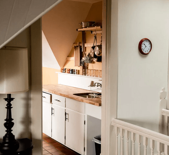 Kitchen of short term rental property