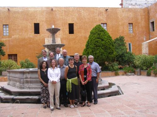 International Relations Commission in Queretaro at Fountain