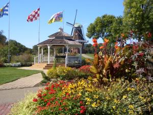 Gazebo at the Windmill Island Gardens
