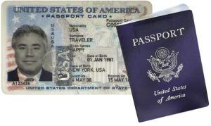 Passport Card and Book