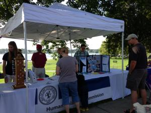 Human Relations Booth