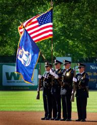 Honor Guard on a Field