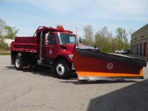 Snow Removal Plow Truck