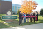 Ribbon Cutting at Hallacy Park